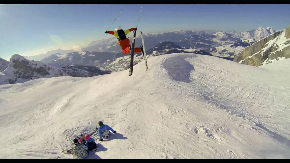 video of the day best ski run ever kill the boredom. Black Bedroom Furniture Sets. Home Design Ideas